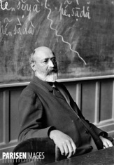Jules Gilliéron (1854-1926), linguiste suisse. Paris, Sorbonne, 1906.
